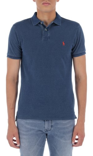 Polo Ralph Lauren Polo   Slim Fit   weathered mesh