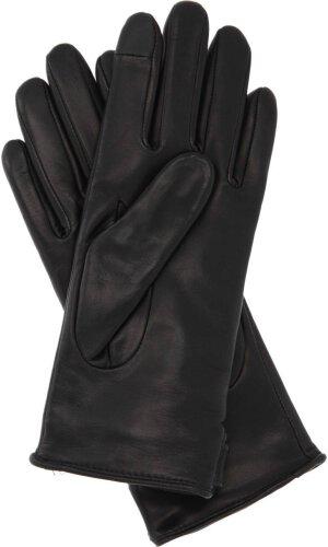 Tommy Hilfiger Skórzane rękawiczki do smartfona TH COIN 002