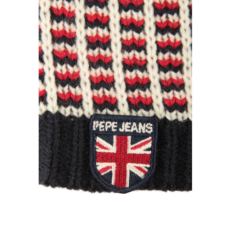 Tom Beanie Pepe Jeans London navy blue