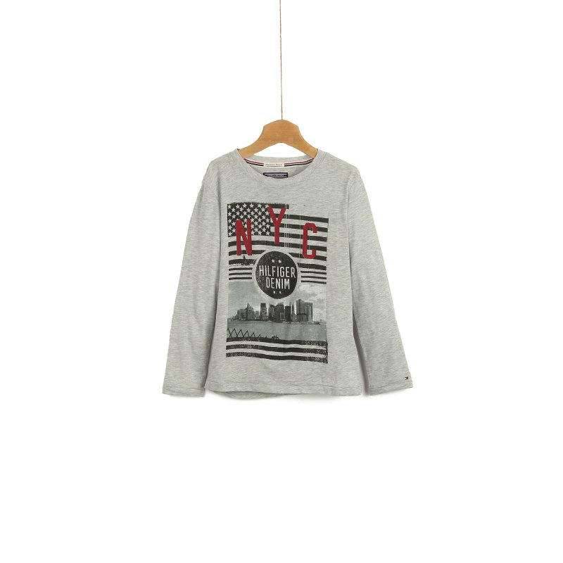 Longsleeve Photo 3 Tommy Hilfiger szary