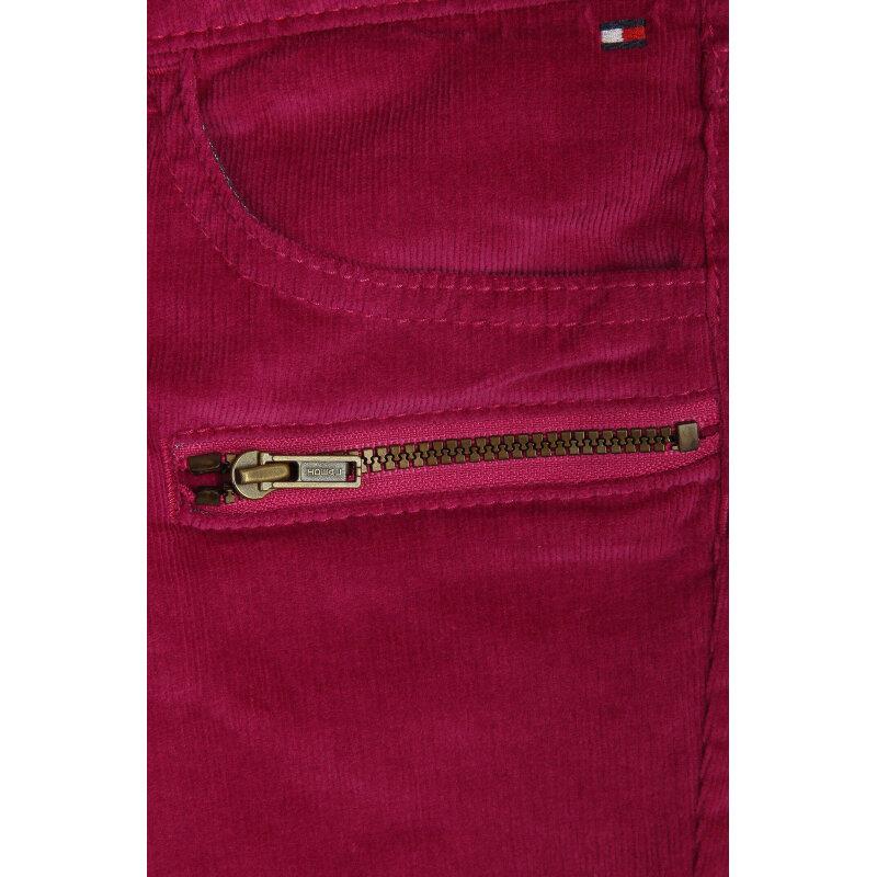 Ribcord Pants Hilfiger Denim fuchsia
