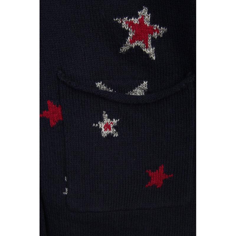 Kardigan Star Tommy Hilfiger granatowy