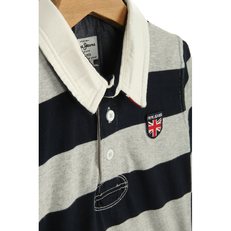 Polo Duff Pepe Jeans London granatowy