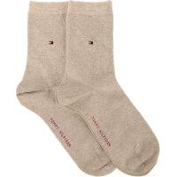 2 Pack Socks Tommy Hilfiger beige