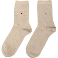 Skarpety 2-pack Tommy Hilfiger beżowy