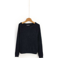 Sweter Lina Tommy Hilfiger granatowy