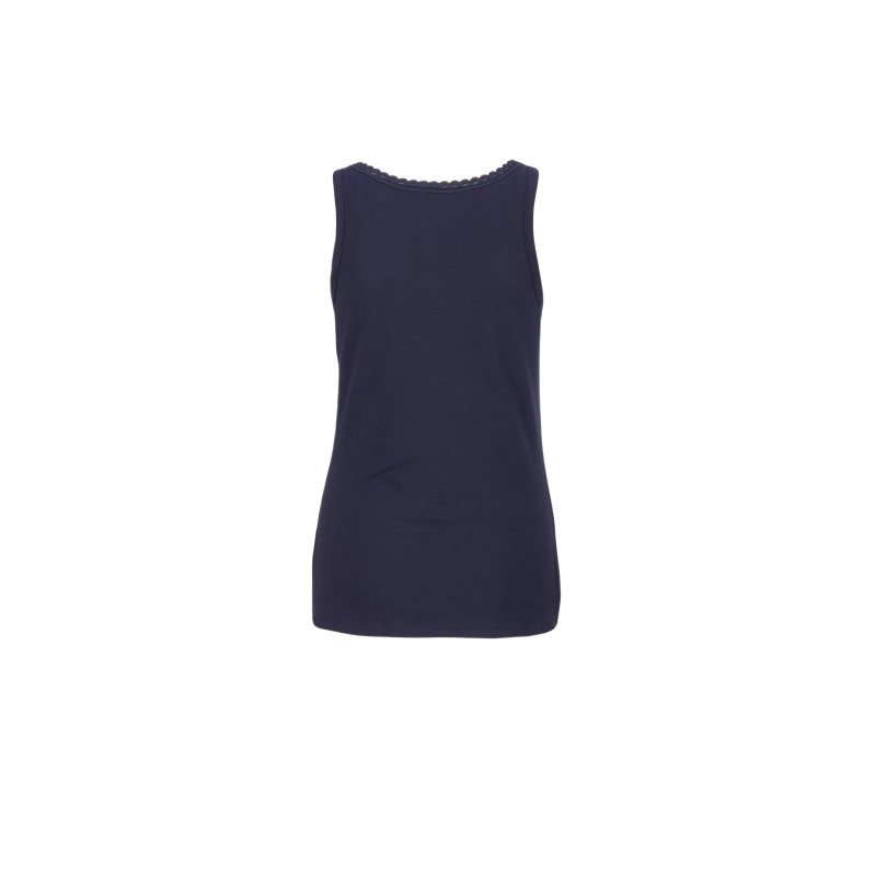 Top Cami Comfort Tommy Hilfiger granatowy