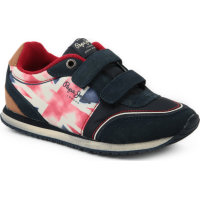 Sneakersy Sydney Jack Pepe Jeans London granatowy
