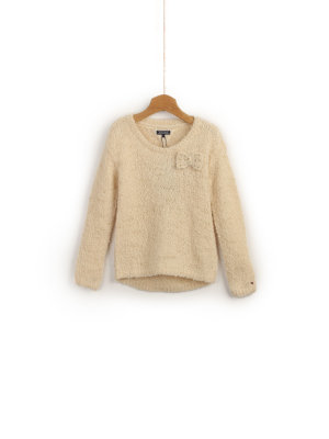 Tommy Hilfiger Sweter Boucle Mini
