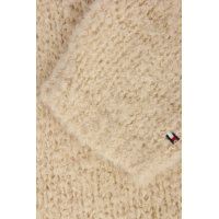 Sweter Boucle Tommy Hilfiger beżowy