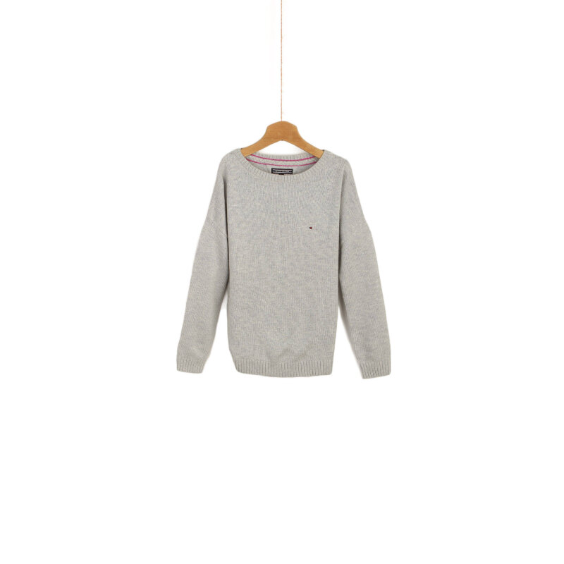 Soft Sweater Tommy Hilfiger ash gray