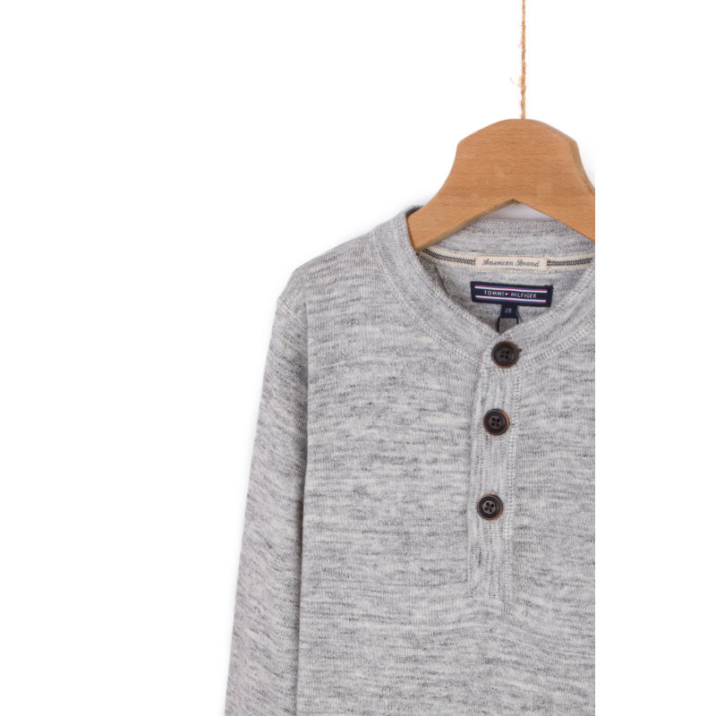 Sweter Toucan Tommy Hilfiger szary