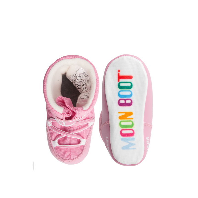 Śniegowce Crib Moon Boot różowy