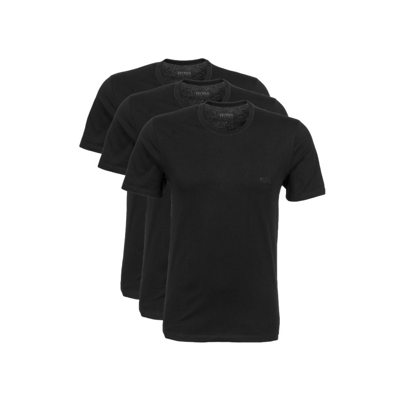 T-Shirt/Podkoszulek 3 Pack Boss czarny