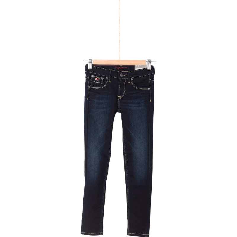 Jeansy Snicker Pepe Jeans London granatowy
