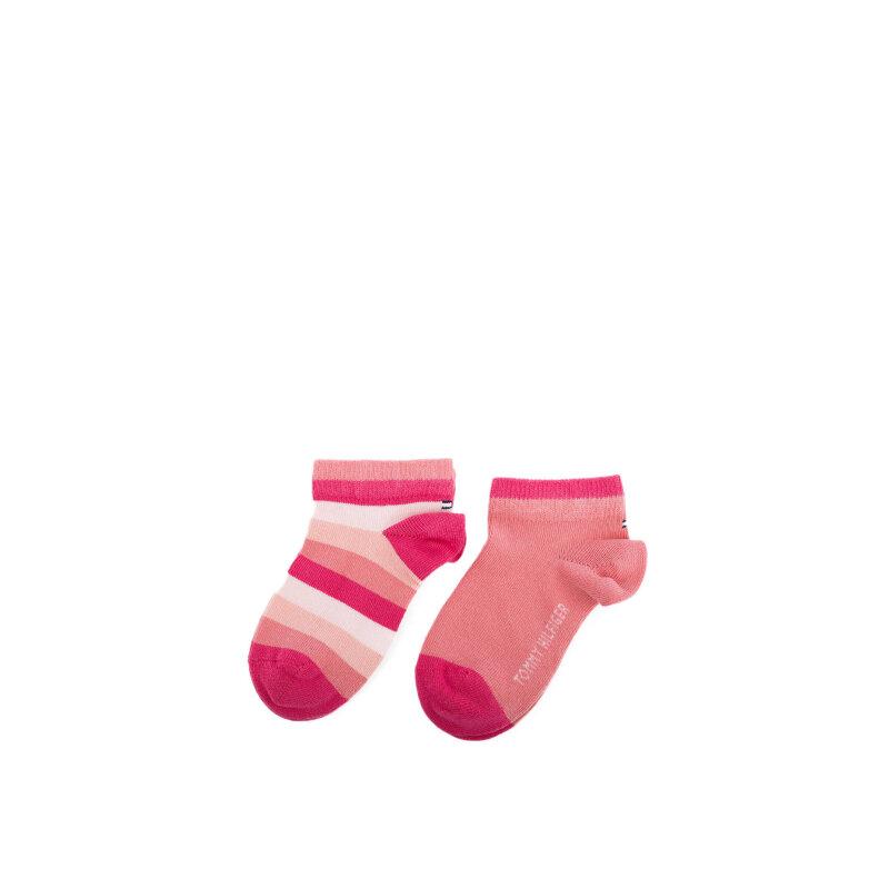 2 Pack Socks/low socks Tommy Hilfiger pink