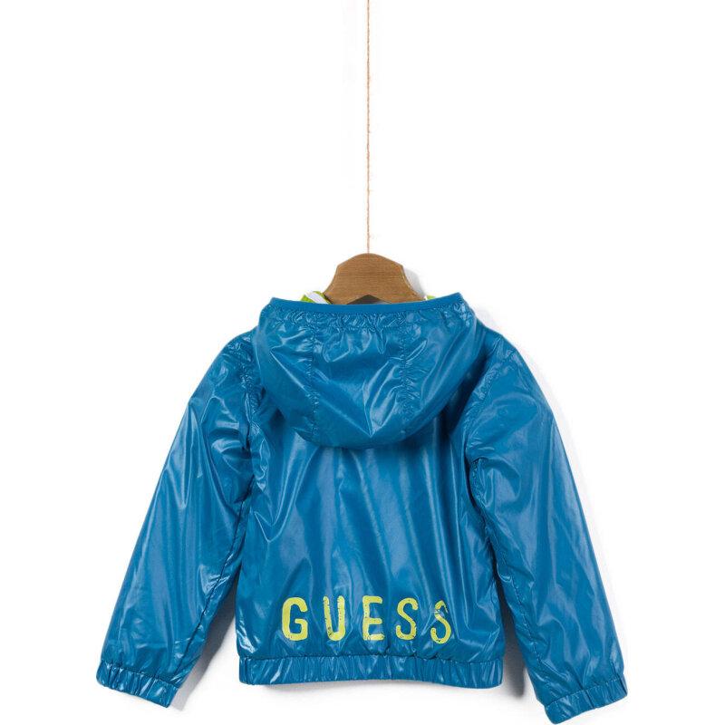 Kurtka Guess niebieski