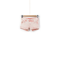 Sigrid Denim shorts Pepe Jeans London coral