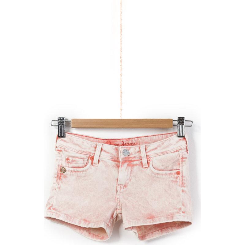 Sigrid Denim shorts Pepe Jeans London coral