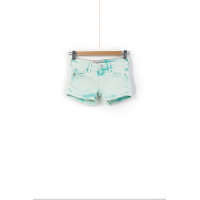 Sigrid Denim shorts Pepe Jeans London mint