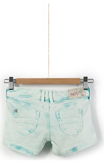 Sigrid Denim shorts Pepe Jeans London mint