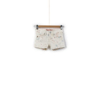Sarah Denim shorts Pepe Jeans London cream