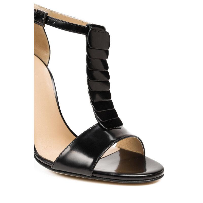 Sandały Armani Collezioni czarny
