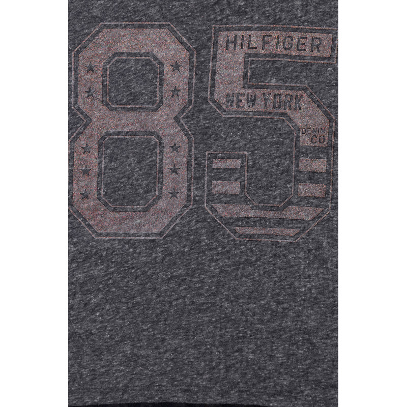 T-shirt Bibi Tommy Hilfiger granatowy