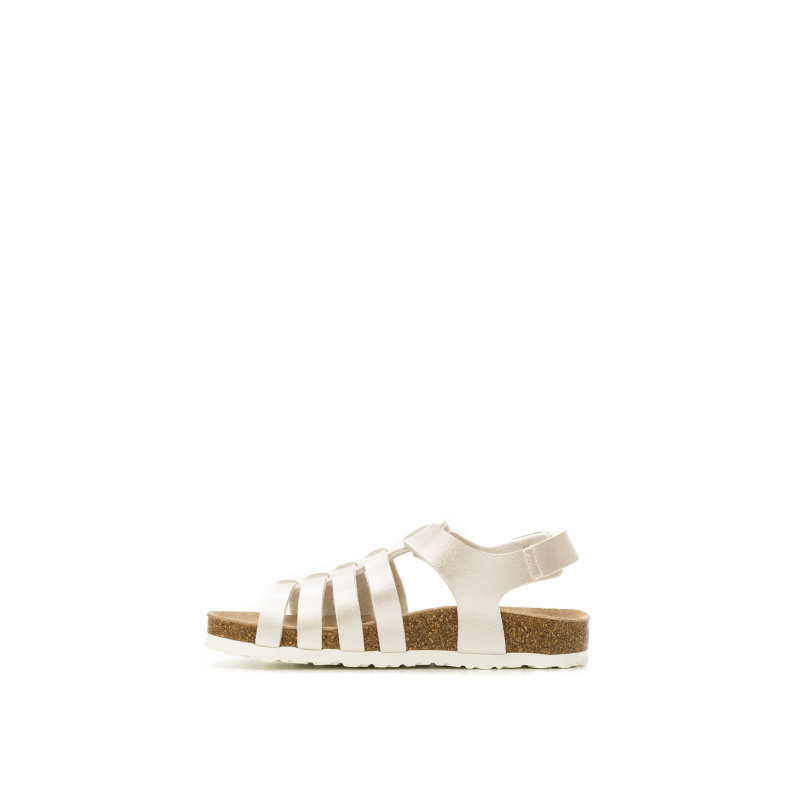 Mini Bio Sandals Pepe Jeans London silver