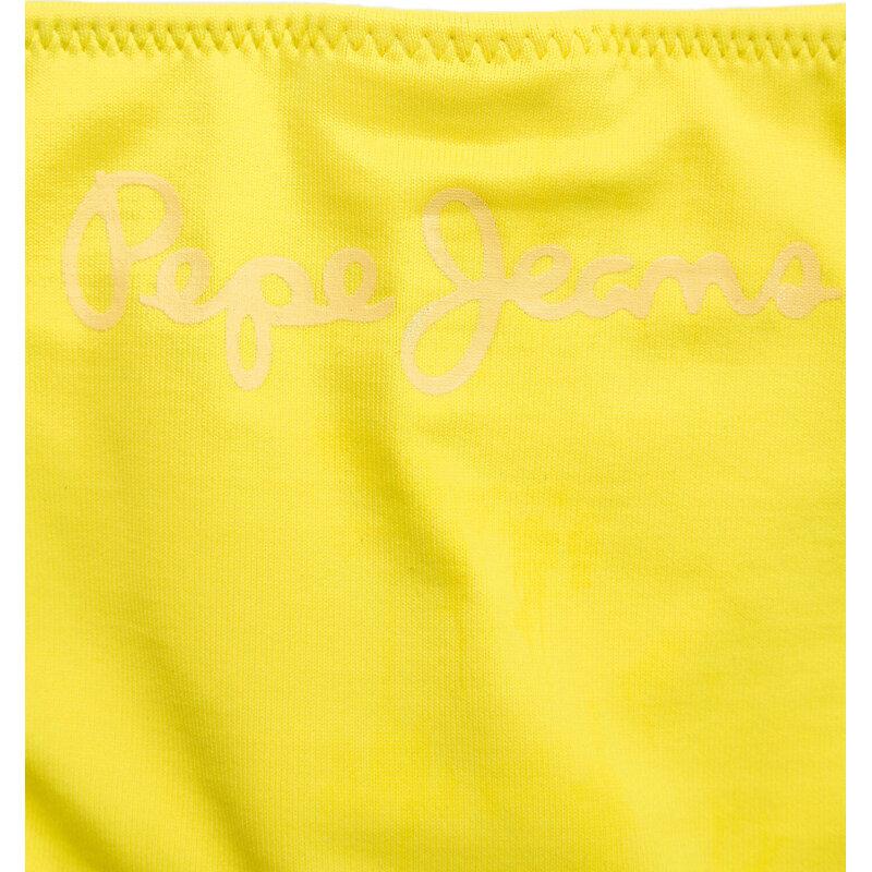 Strój kąpielowy Pepe Jeans London żółty