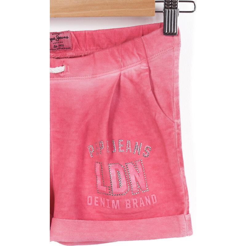 Spodenki Sherry Pepe Jeans London różowy