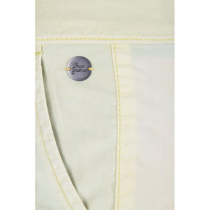 Szorty Grover Pepe Jeans London żółty