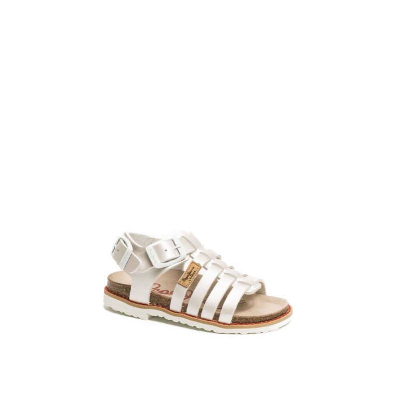 Minibio Sandals Pepe Jeans London silver