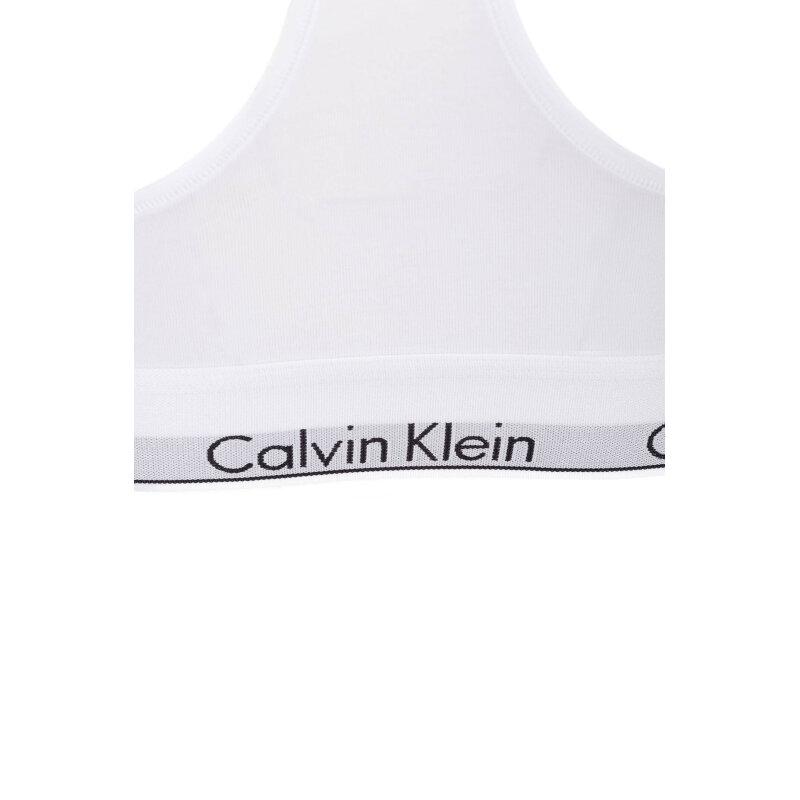 Biustonosz/Bralette Calvin Klein Underwear biały