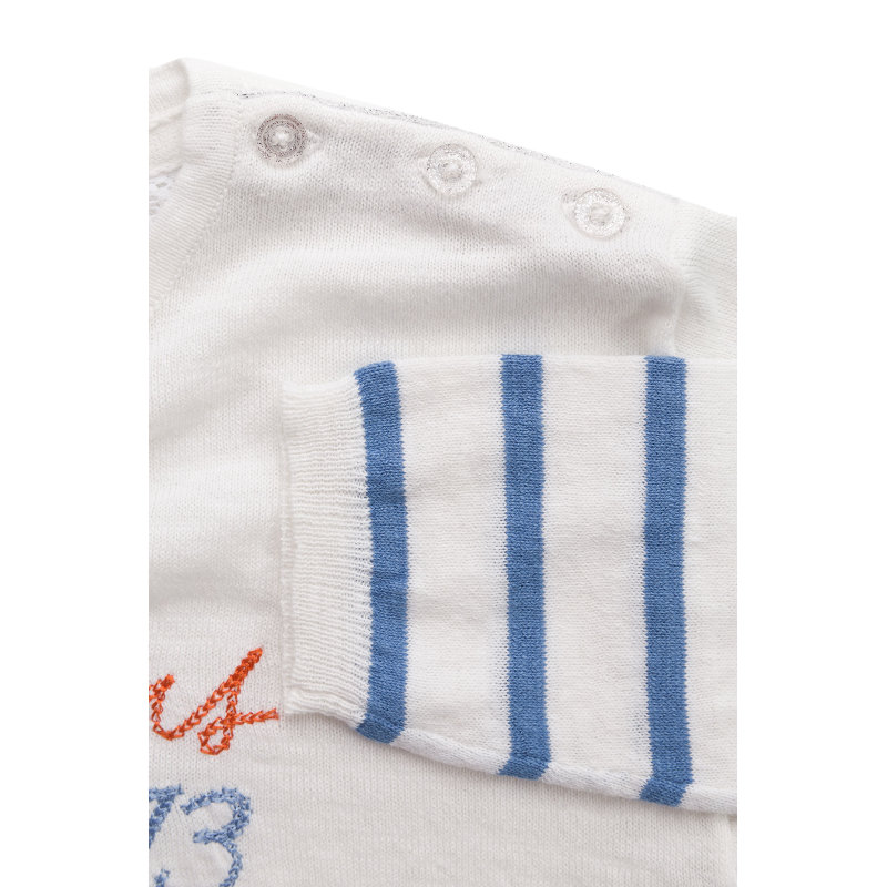 Sweter Portia Pepe Jeans London biały