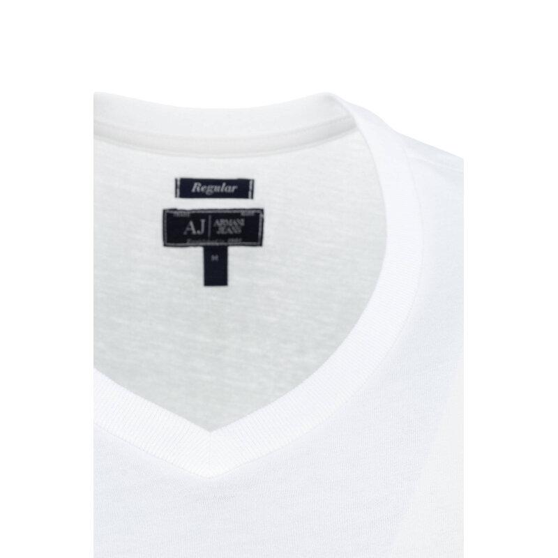 T-shirt/Podkoszulek 2 Pack Armani Jeans biały