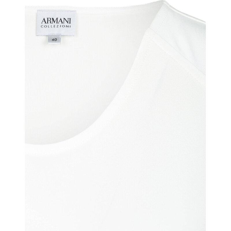 Top Armani Collezioni cream