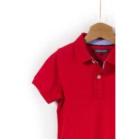 Polo Tommy Tommy Hilfiger czerwony