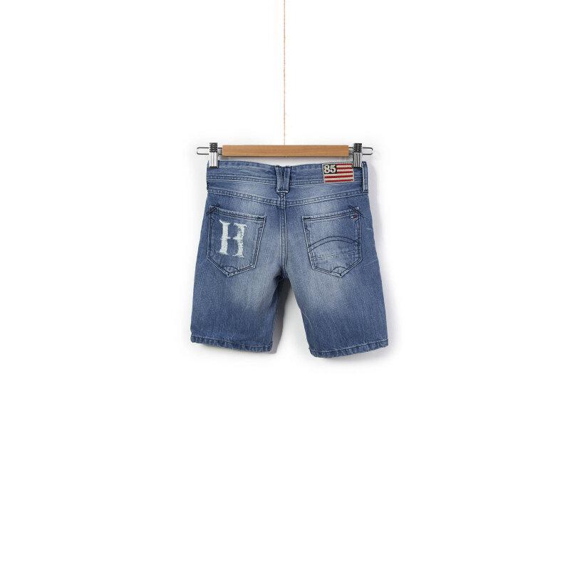 Spodenki Jeansowe Ronnie Tommy Hilfiger niebieski