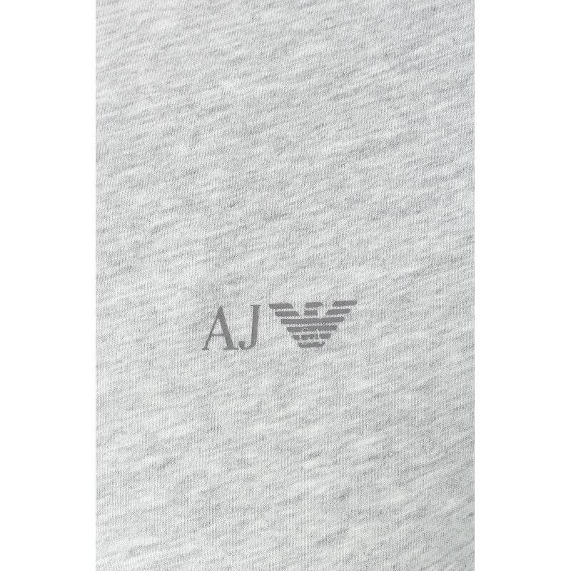 T-shirt/Podkoszulek Armani Jeans szary