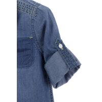 Koszula Sleveed Guess niebieski