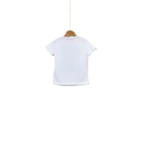 T-shirt Round Neck Guess biały