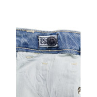 Spodnie Guess niebieski
