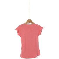 T-shirt Guess koralowy