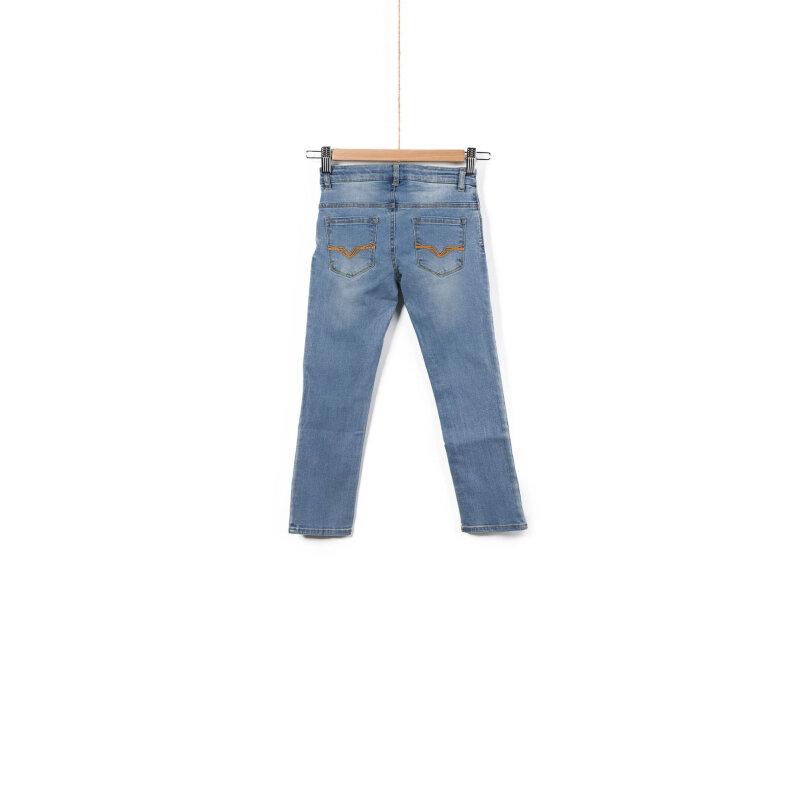 Spodnie Jerry Guess niebieski