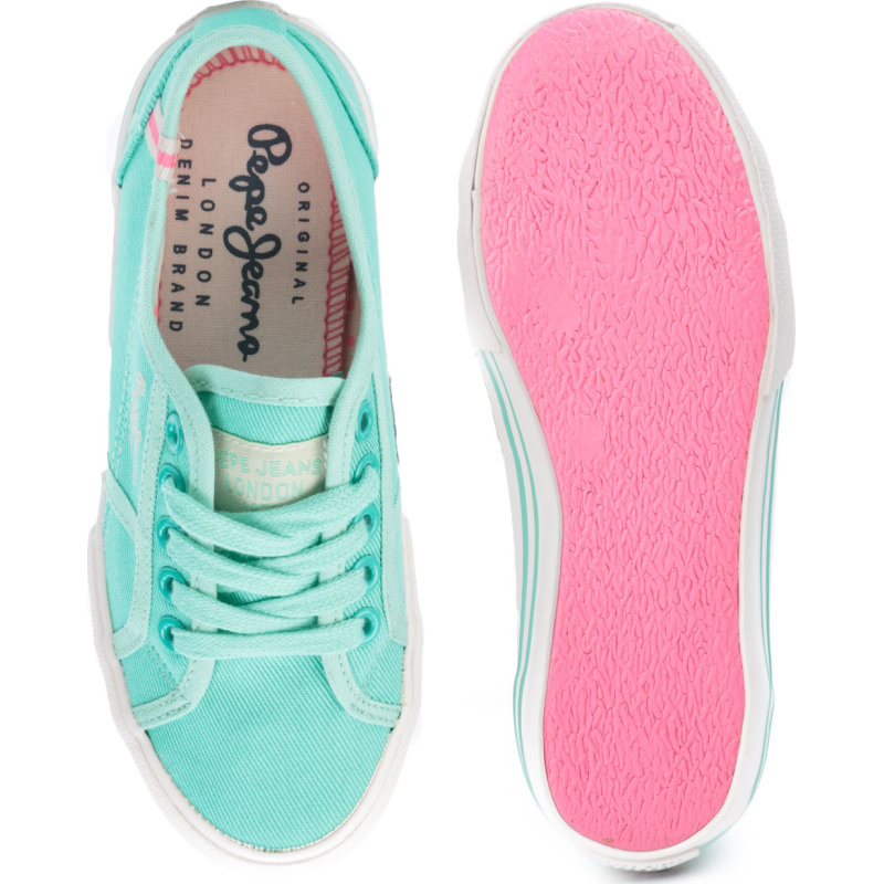 Baker Wash Sneakers Pepe Jeans London mint