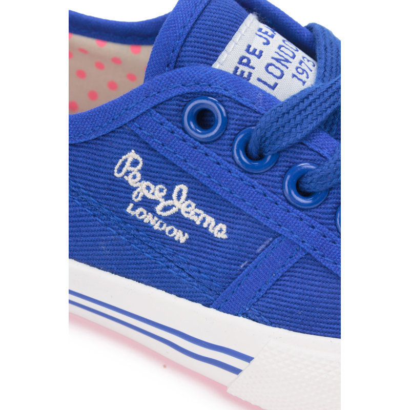 Baker Wash Sneakers Pepe Jeans London blue