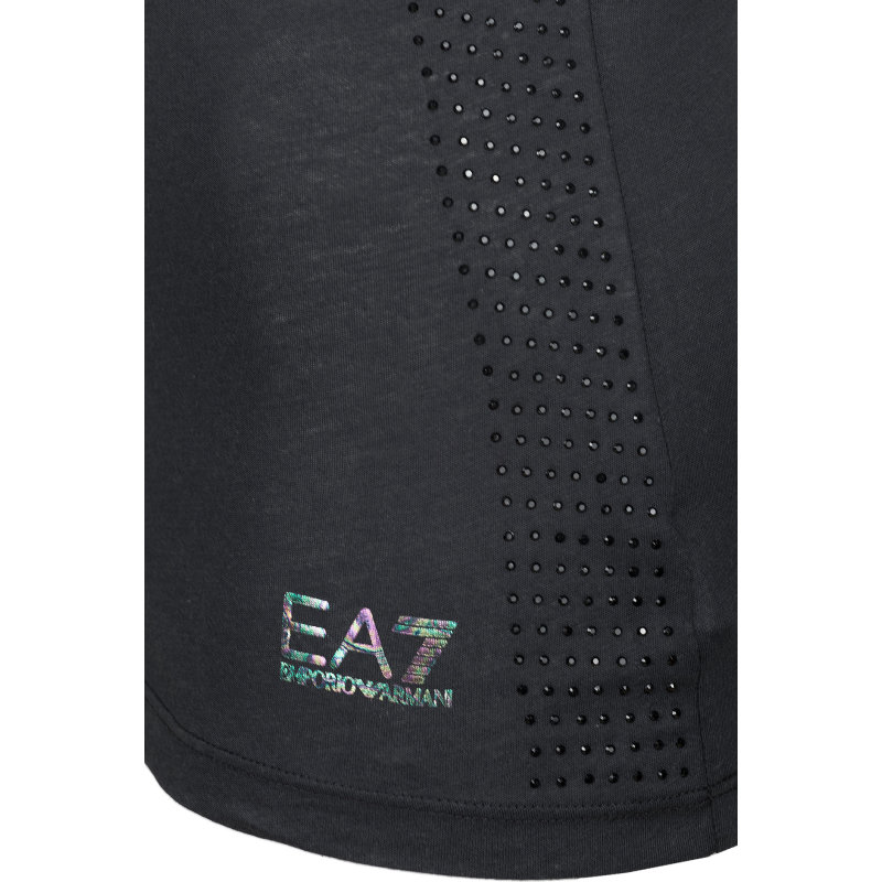 Top EA7 czarny
