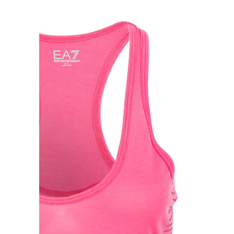 Top EA7 pink
