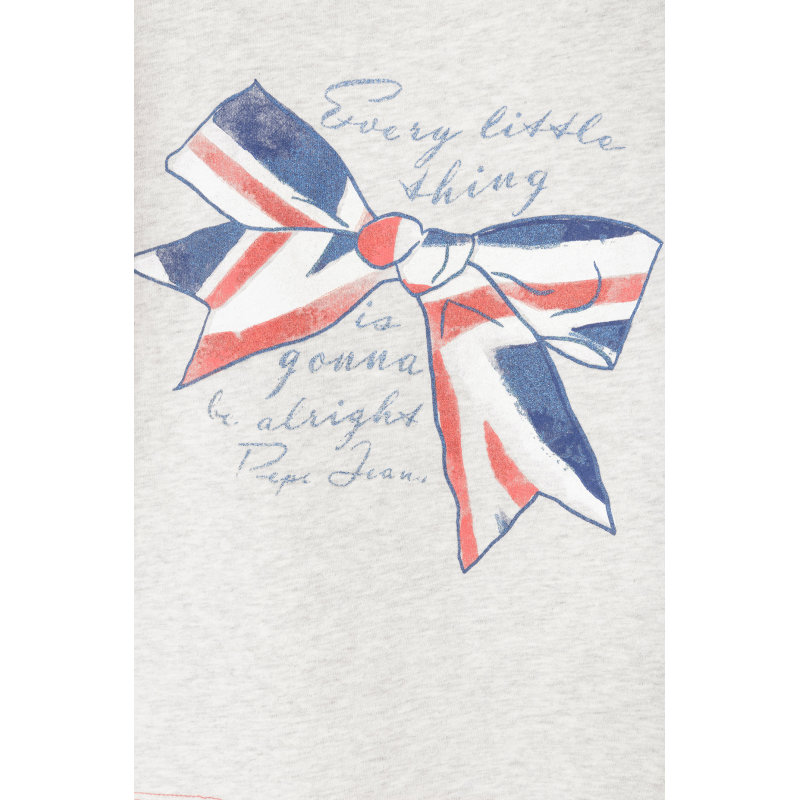 Bluzka Carlota Pepe Jeans London popielaty